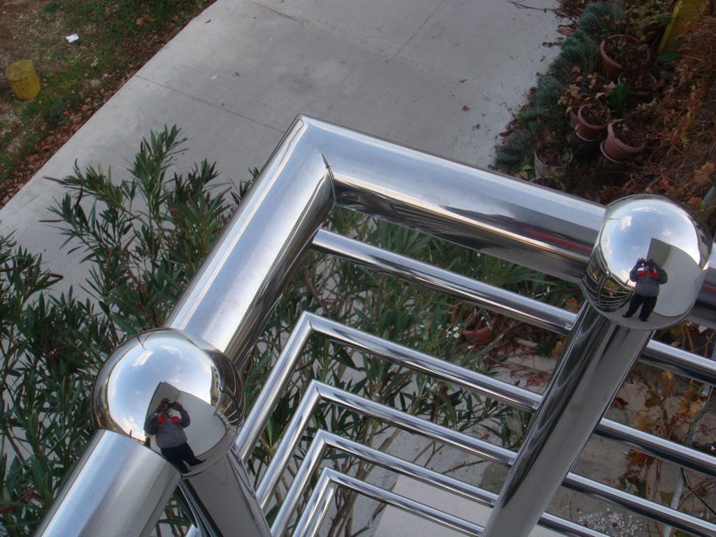 Balkonska ograda od inoxa